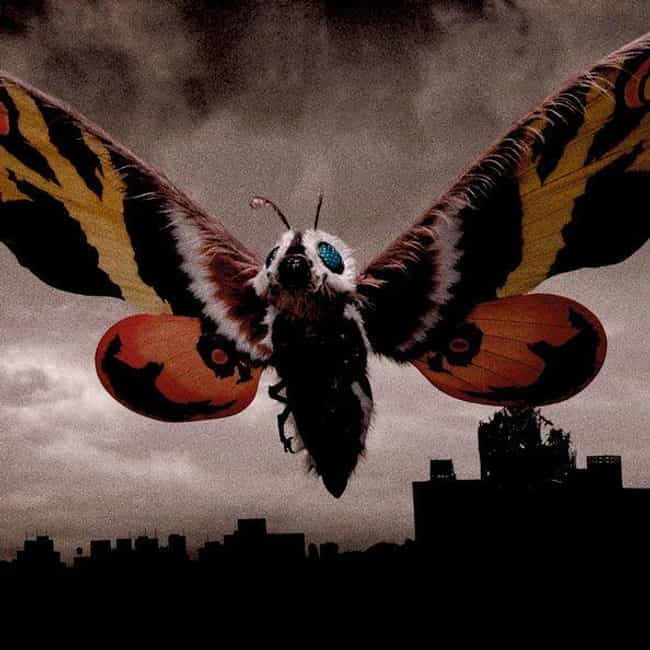 Mothra is listed (or ranked) 3 on the list The Best Monsters From The 'Godzilla' Movies