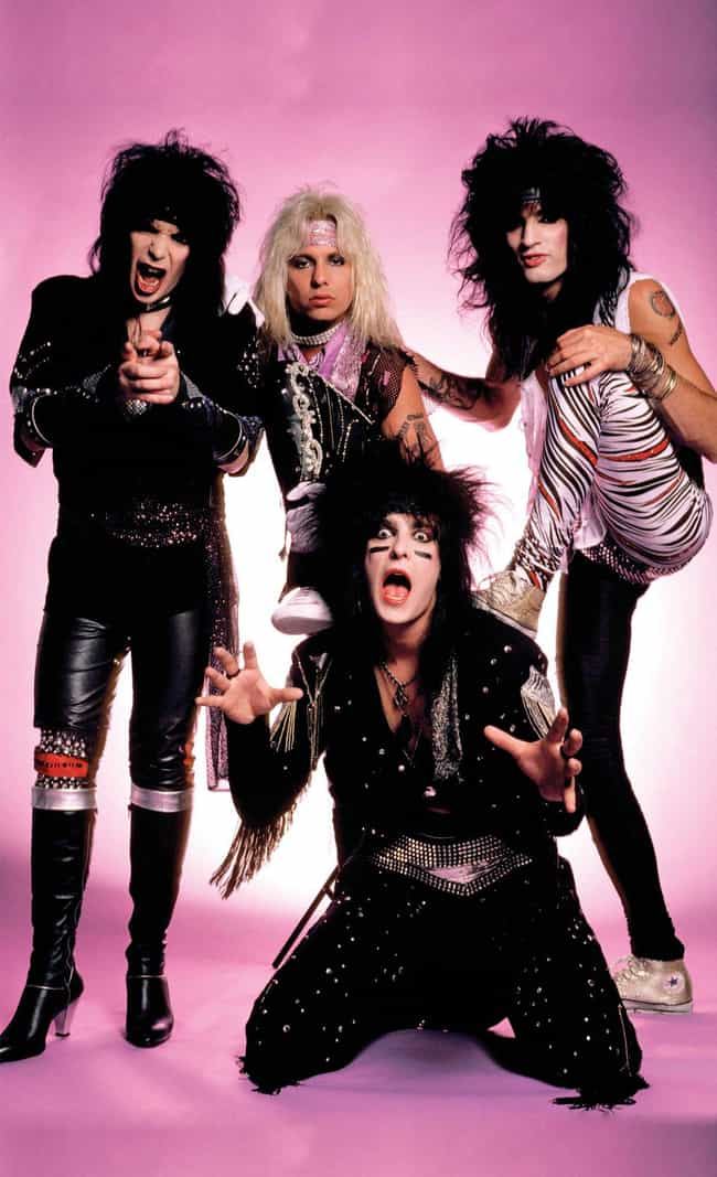 Mötley Crüe is listed (or ranked) 4 on the list The Funniest '80s Glam Band Photos Ever