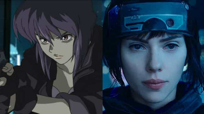 Motoko Kusanagi is listed (or ranked) 1 on the list Live-Action American Versions Of Famous Anime Characters