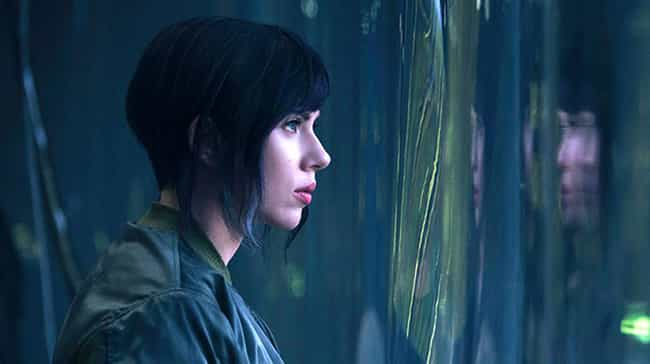 Motoko Kusanagi is listed (or ranked) 3 on the list 32 Characters Who Were Whitewashed by Hollywood