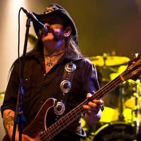Motörhead is listed (or ranked) 24 on the list Musicians Who Belong In The Rock And Roll Hall Of Fame