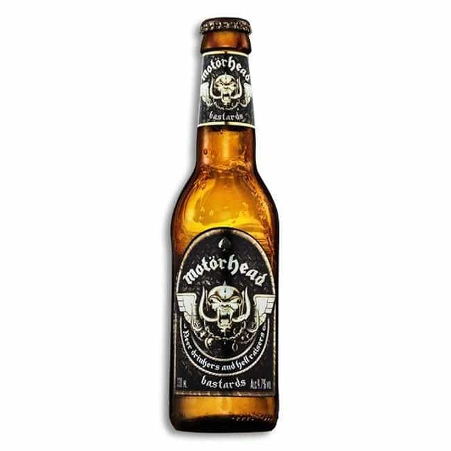 Motörhead is listed (or ranked) 3 on the list Rock Bands With The Coolest Custom Beers
