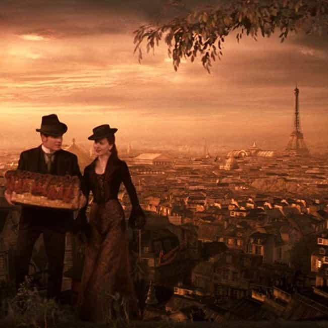 Moulin Rouge! is listed (or ranked) 3 on the list The Most Romantic Movies Set In Paris, The City Of Love