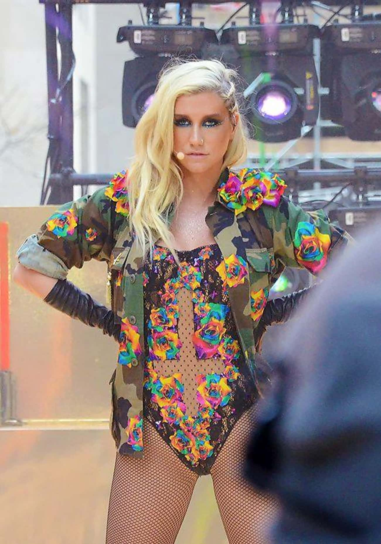 Ke$ha is listed (or ranked) 2 on the list Celebrities Who Claim to Have Had Sex with Ghosts