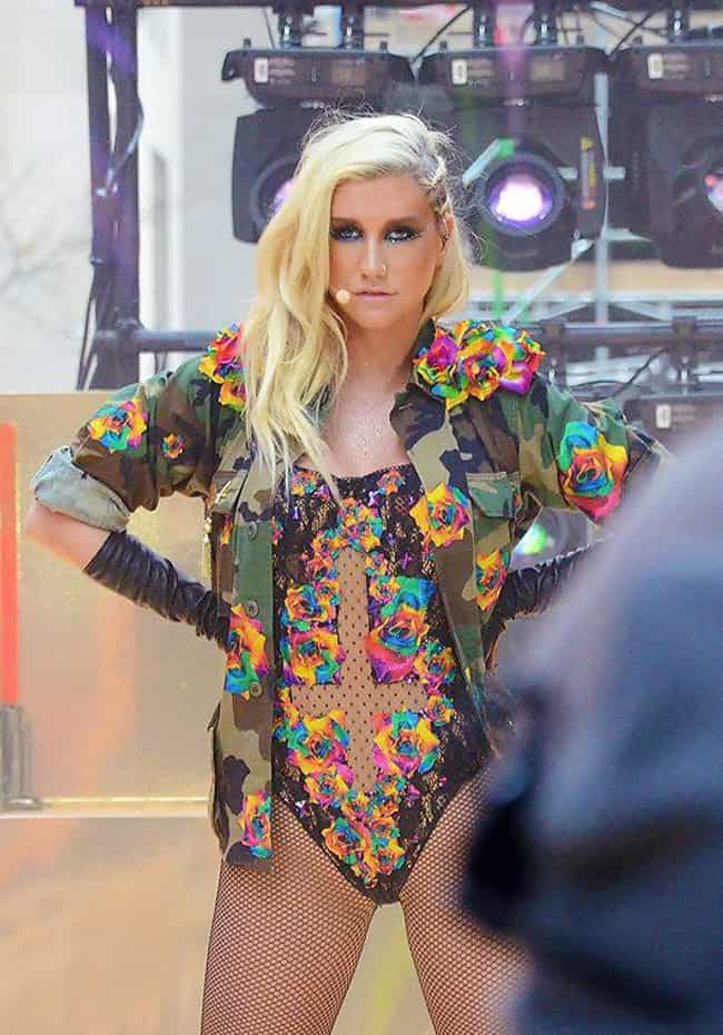 Kesha is listed (or ranked) 2 on the list Celebrities Who Claim to Have Had Sex with Ghosts