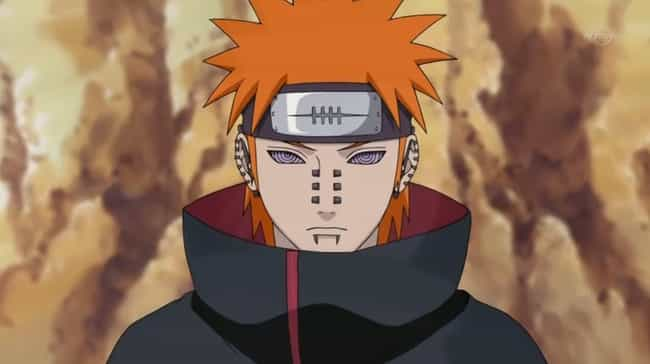 Pain is listed (or ranked) 3 on the list The 18 Greatest Shonen Anime Villains Of All Time