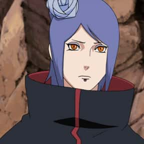 Konan is listed (or ranked) 21 on the list The Best Naruto Characters