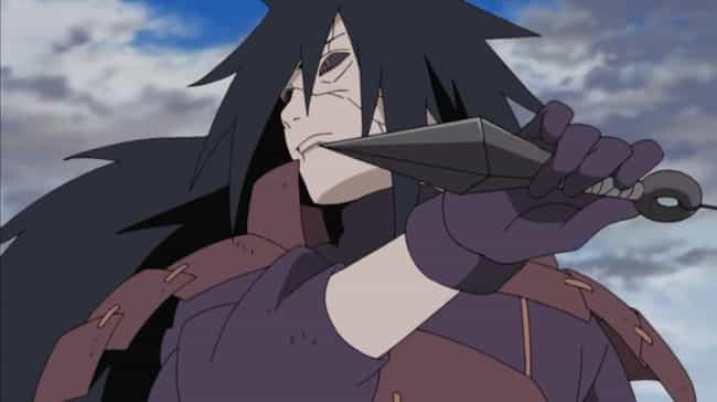Madara Uchiha is listed (or ranked) 3 on the list The 13 Greatest Taijutsu Users In 'Naruto'
