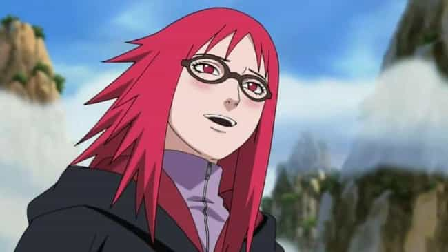 Karin is listed (or ranked) 5 on the list The 20 Worst Naruto Characters In Series History