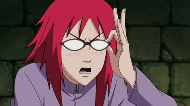 Karin is listed (or ranked) 4 on the list 13 Regrettable Characters Who Nearly Ruined Great Anime