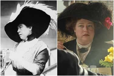 Margaret 'Molly' Brown - Kathy is listed (or ranked) 1 on the list The 'Titanic' Cast Vs. The Real People They Portrayed