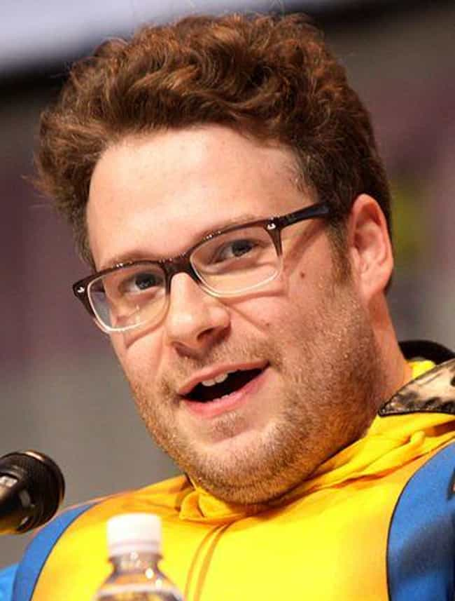 Seth Rogan is listed (or ranked) 1 on the list 18 Crazy Things Celebrities Have Done While High