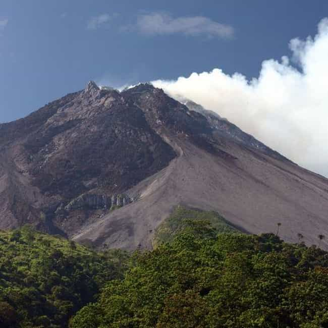 Mount Merapi is listed (or ranked) 2 on the list The World's Most Dangerous Volcanoes