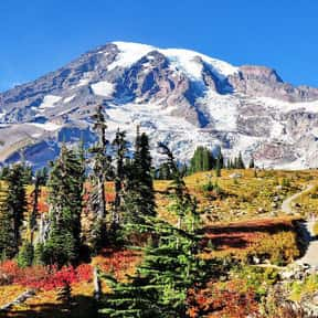 Mount Rainier National Park is listed (or ranked) 10 on the list The Best National Parks in the USA