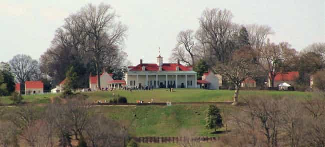 Mount Vernon is listed (or ranked) 1 on the list Notable Homes Of The Founding Fathers