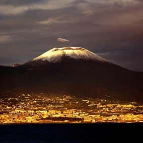 The Vesuvius is listed (or ranked) 13 on the list The Most Beautiful Natural Wonders In The World