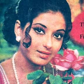 Moushumi Chatterjee is listed (or ranked) 4 on the list Famous Film Actors From Kolkata