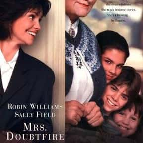 Mrs. Doubtfire is listed (or ranked) 3 on the list The Best Ever Robin Williams Movies