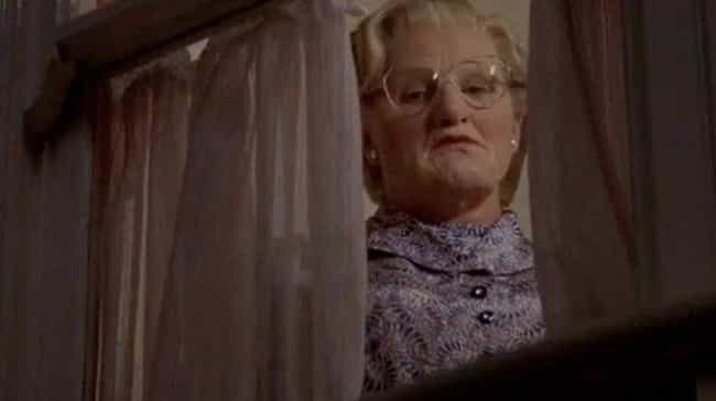 Mrs. Doubtfire is listed (or ranked) 6 on the list Movies From Your Childhood That Taught You Bad Lessons