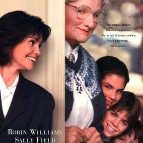 Mrs. Doubtfire is listed (or ranked) 3 on the list The Best Cross-Dressing Movies