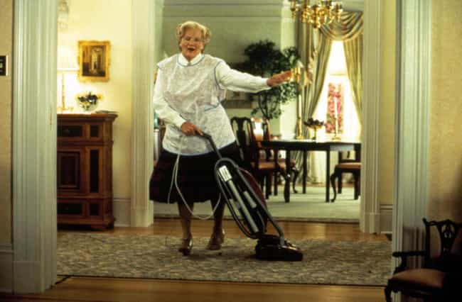 Mrs. Doubtfire is listed (or ranked) 3 on the list Movies That Are Even Better Than the Books They're Based On