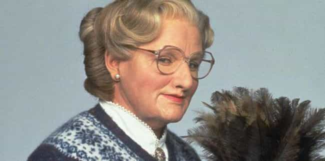 Mrs. Doubtfire is listed (or ranked) 3 on the list 15 Romantic Comedies In Which The Leads Are Gaslighting Their Love Interests