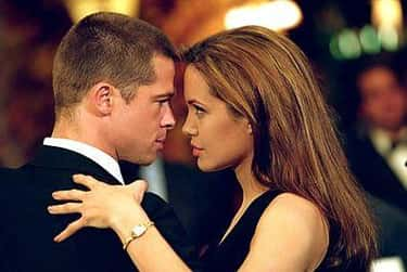 Mr. & Mrs. Smith: Brad Pitt &  is listed (or ranked) 2 on the list 17 Movies That Totally Shattered Celebrity Marriages