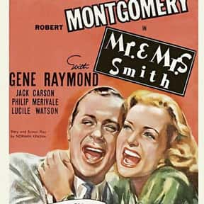 Mr. & Mrs. Smith is listed (or ranked) 13 on the list The Best Romantic Comedies of the 1940s