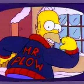Mr. Plow is listed (or ranked) 7 on the list The Best Single Episodes in Television History