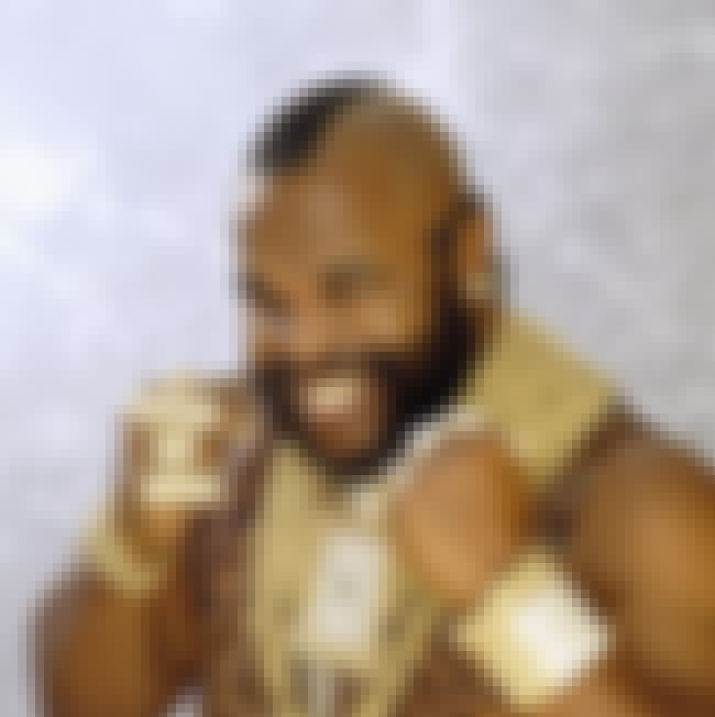 Mr. T is listed (or ranked) 4 on the list 30+ Celebrities Who Are Born-Again Christians