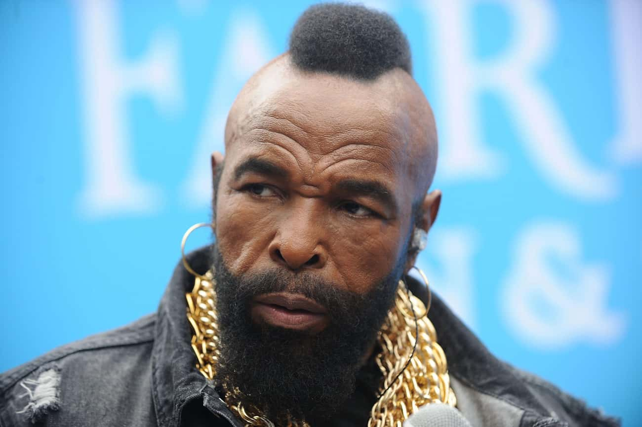 Mr. T is listed (or ranked) 1 on the list Famous Male Motivational Speakers