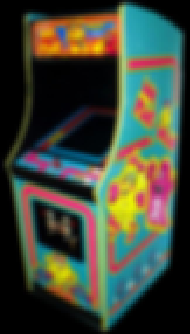 Ms. Pac-Man is listed (or ranked) 4 on the list The Coolest Arcade Game Cabinet Art Ever!
