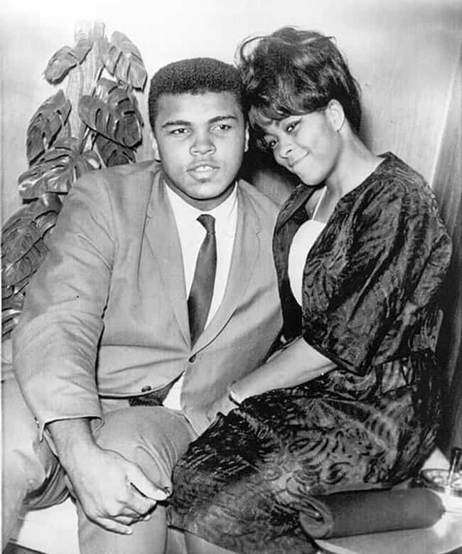Muhammad Ali is listed (or ranked) 4 on the list 14 Celebrites Who Married People They Barely Knew