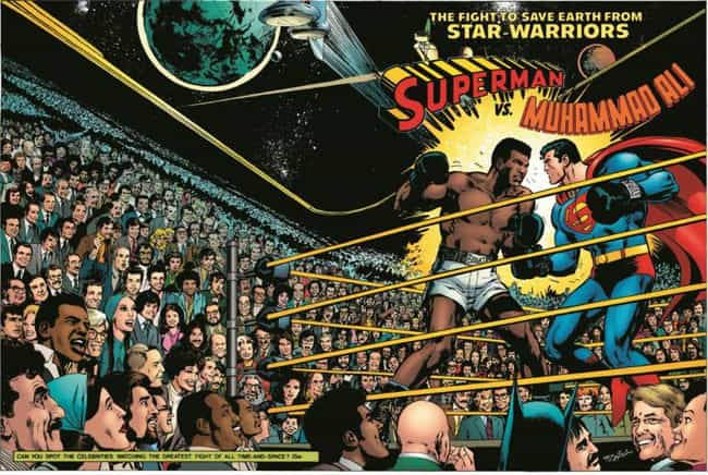 Muhammad Ali is listed (or ranked) 2 on the list 29 Celebrities Who Have Shown Up In Comic Books