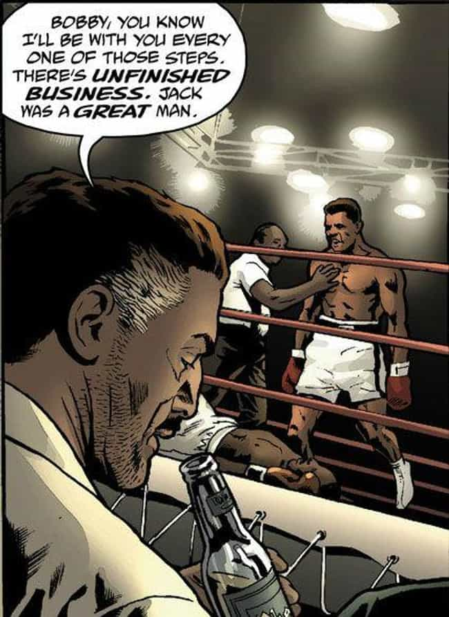 Muhammad Ali is listed (or ranked) 2 on the list Historical Events That Happen In The 'Watchmen' Universe