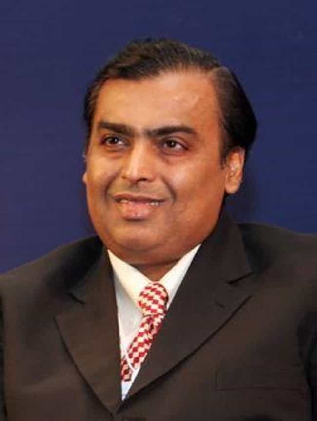 Mukesh Ambani is listed (or ranked) 4 on the list Billionaire College Dropouts
