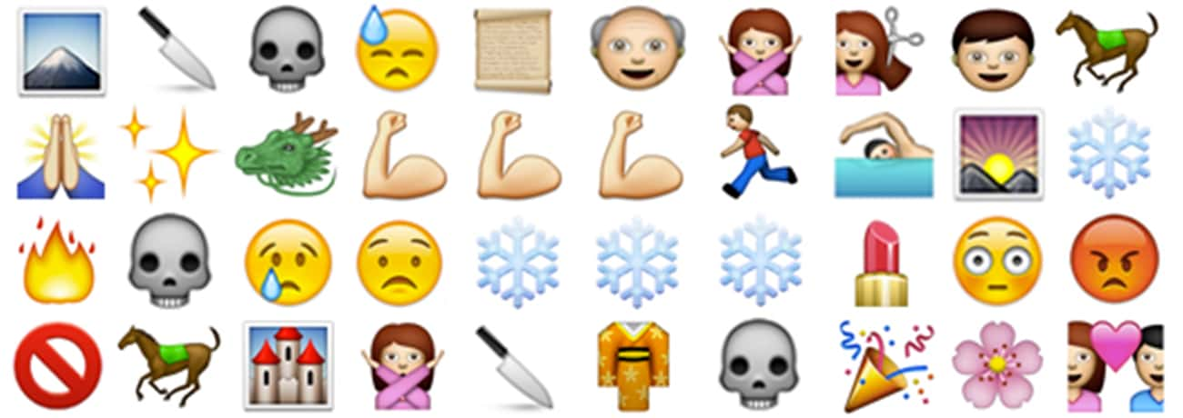 'Mulan' is listed (or ranked) 3 on the list Plots of Disney Movies Spelled Out in Emojis