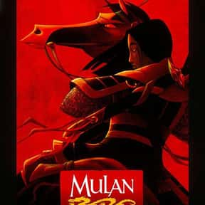 Mulan is listed (or ranked) 5 on the list Disney Movies with the Best Soundtracks, Ranked
