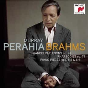 Murray Perahia is listed (or ranked) 1 on the list Famous People Named Murray