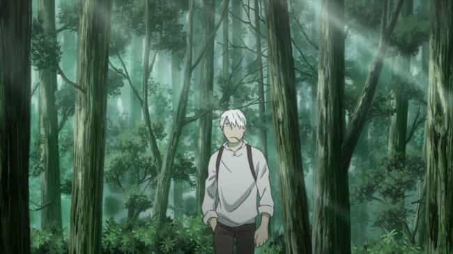 Mushishi is listed (or ranked) 3 on the list 15 Soothing Anime That Are Good To Watch Before Bed