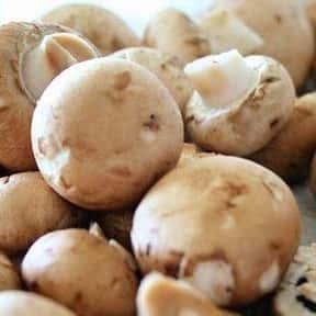 Mushroom is listed (or ranked) 18 on the list The Healthiest Superfoods