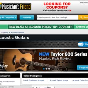 Musicians Friend is listed (or ranked) 14 on the list The Best Guitar Stores In America