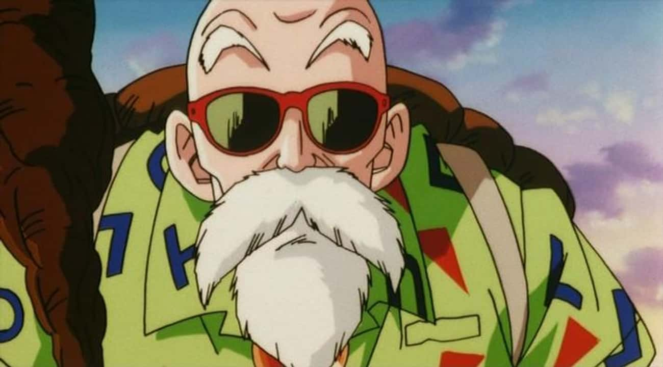 Master Roshi is listed (or ranked) 4 on the list The Best Anime Characters With Beards