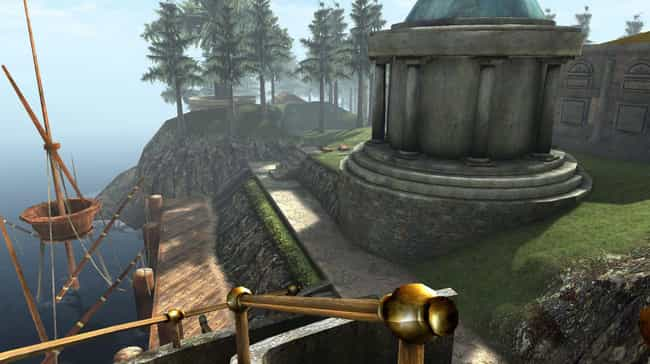 Myst is listed (or ranked) 1 on the list 14 Impossibly Hard '90s Games No Kid Today Could Beat