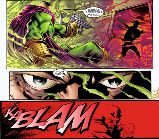 Mysterio is listed (or ranked) 2 on the list The Shortest Deaths In Comic Book History