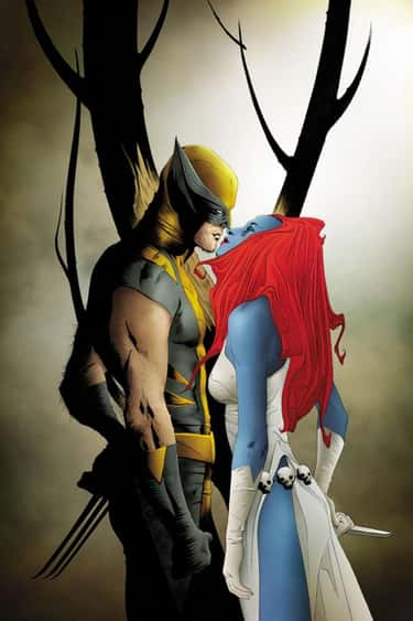 Mystique is listed (or ranked) 5 on the list Wolverine's Long List of Lovers