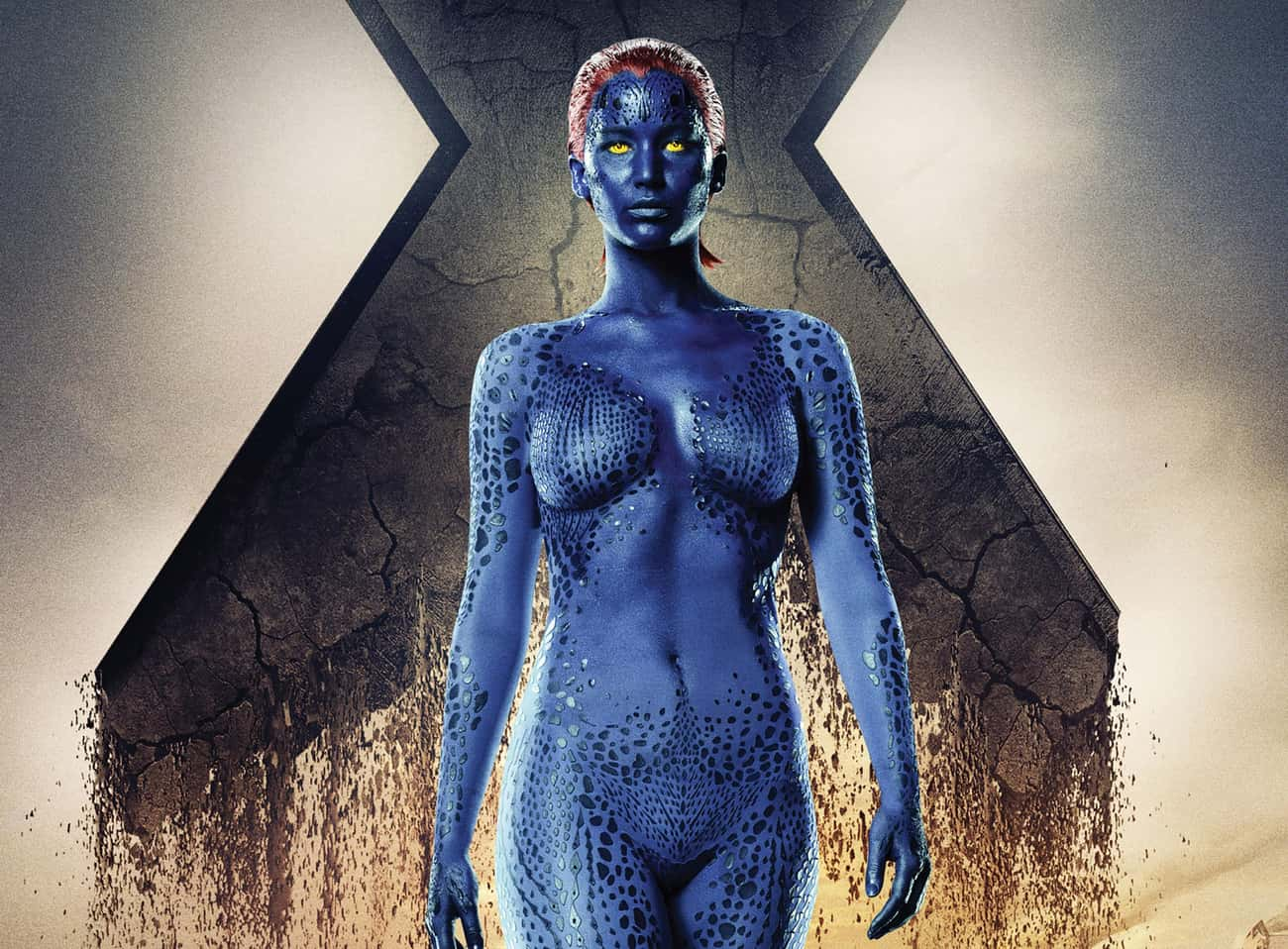 Mystique from the X-Men Films is listed (or ranked) 4 on the list 29 Movie Villains Who Were Probably Right All Along