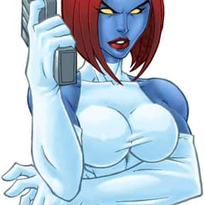 Mystique is listed (or ranked) 13 on the list The Most Attractive Cartoon Characters Of All Time