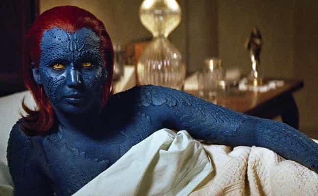 Mystique is listed (or ranked) 2 on the list Fictional Characters Who Are Way Older Than They Look