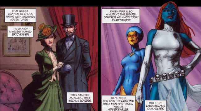 Mystique is listed (or ranked) 3 on the list The Best Queer Comic Book Characters